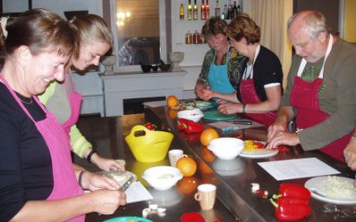 Kookworkshop friesland in combinatie met bootverhuur