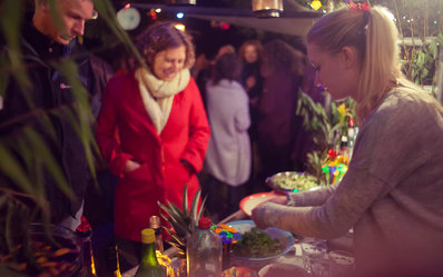 Arrangement en evenement in Akkrum met cocktails en livemuziek